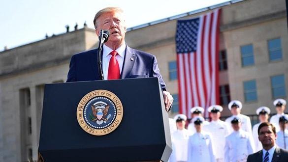 11 Eylül'ün yıl dönümünde Trump açık açık tehdit etti: Hiç olmadığı kadar güç kullanırız