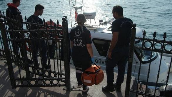 Kabataş'ta denizde ceset bulundu