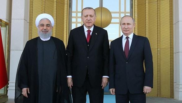 Ankara'da kritik Suriye zirvesi! Başkan Erdoğan'ın Putin ile görüşmesi sona erdi