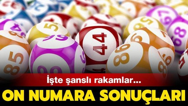 Milli Piyango İdaresi 16 Eylül 2019 On Numara çekiliş sonuçları açıklandı! Kazanan numaralar...