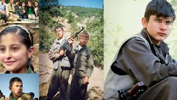 Alçaklar çocukları böyle kandırmış! İşte PKK'nın gerçek yüzü