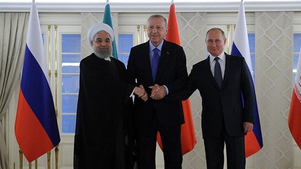 Türkiye-Rusya-İran Üçlü Liderler Zirvesi'ne Rus basınından çarpıcı yorum: Geri dönülmez evrede