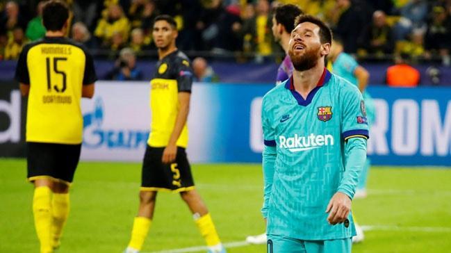 Borussia Dortmund, Barcelona'ya diş geçiremedi