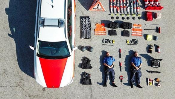 İsviçre polisinden dikkat çeken akım