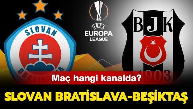"""Slovan Bratislava Beşiktaş başlıyor! Slovan Bratislava Beşiktaş hangi kanalda yayınlanacak"""""""