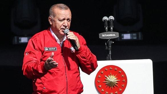 Son dakika: Başkan Erdoğan'dan TEKNOFEST'te sert mesajlar! 'Buradan Kandil'e sesleniyorum'
