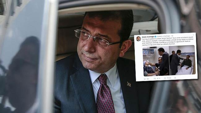 Ekrem İmamoğlu'nun Neslican Tay'ın ailesini ziyaret fotoğraflarını paylaşması tepki çekti