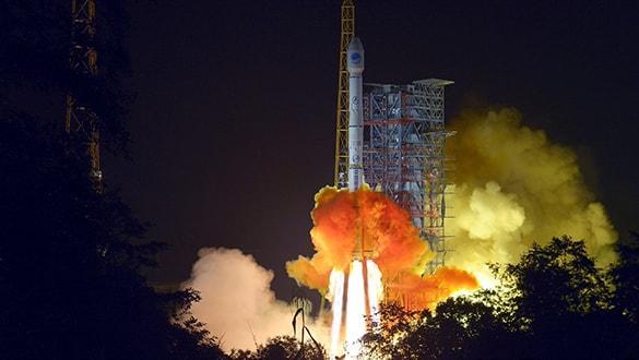 Çin yeni bir çift navigasyon uydusunu yörüngesine gönderdi