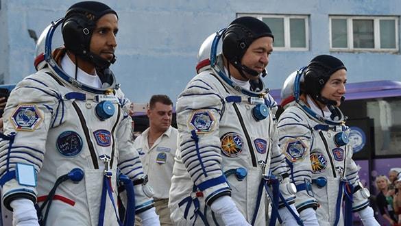 BAE'nin ilk astronotu başarıyla Uzay İstasyonu'na ulaştı