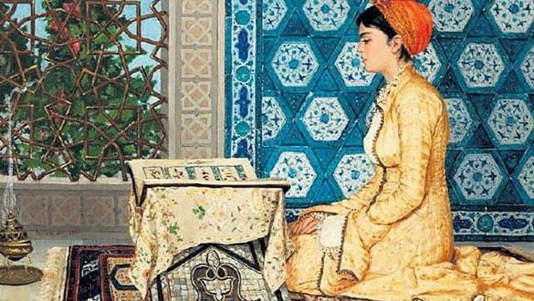 Osman Hamdi Bey'in Kur'an Okuyan Kız tablosu rekor fiyata satıldı