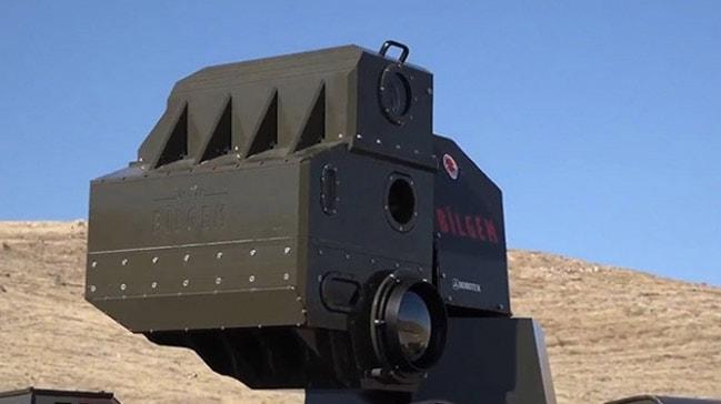 Milli lazer silahı ARMOL TSK envanterine katıldı
