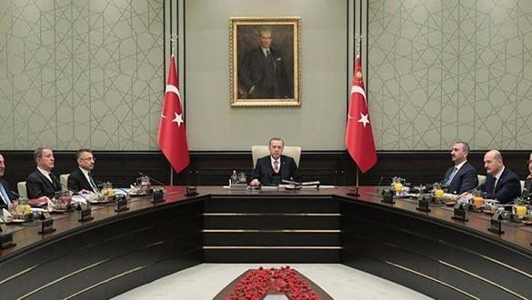 MGK, Başkan Erdoğan başkanlığında toplandı