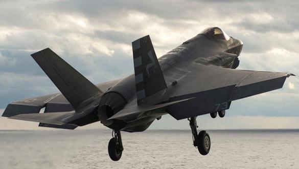 Türkiye için imal edilen 5 No'lu F-35 ilk uçuşunu yaptı