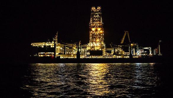 Türkiye'nin ikinci sondaj gemisi 'Yavuz' Mersin'den yola çıktı