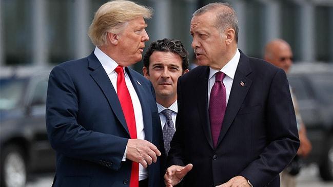Trump: Cumhurbaşkanı Erdoğan ile çok iyi ilişkimiz var