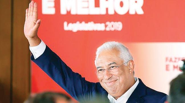 Portekiz'de seçimisosyalistler kazandı