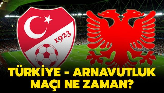 """Türkiye Arnavutluk maçı saat kaçta"""""""