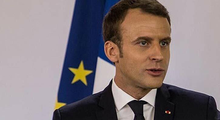 Macron'dan skandal görüşme! Teröristlerle dayanışma halindeler