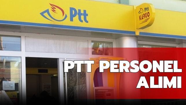 PTT personel alımına vatandaşlar tarafından yoğun ilgi!