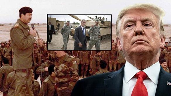 Trump'tan tarihi Orta Doğu itirafı: Savaşa girdik ama kitle imha silahları yoktu