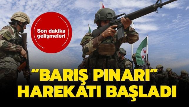 """Barış Pınarı Harekatı nedir"""" 9 Ekim Suriye operasyonu Barış Pınarı Harekatı son dakika başladı!"""