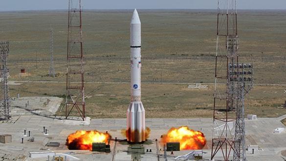 Rus roketi Avrupa ve ABD'nin uydusunu yörüngeye gönderdi