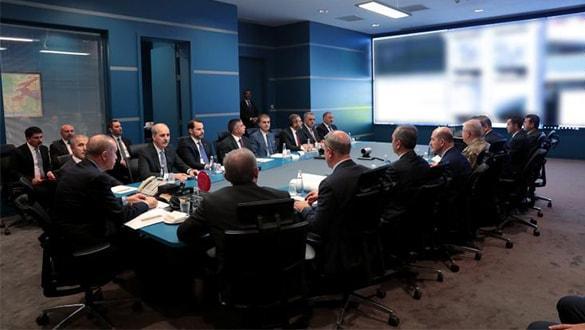 Cumhurbaşkanı Erdoğan, harekat merkezinde gelişmeleri takip ediyor