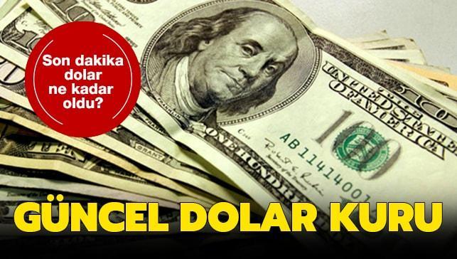 Dolar kuru 11 Ekim 2019 ne kadar oldu? Canlı, anlık dolar son dakika dolar kuru..