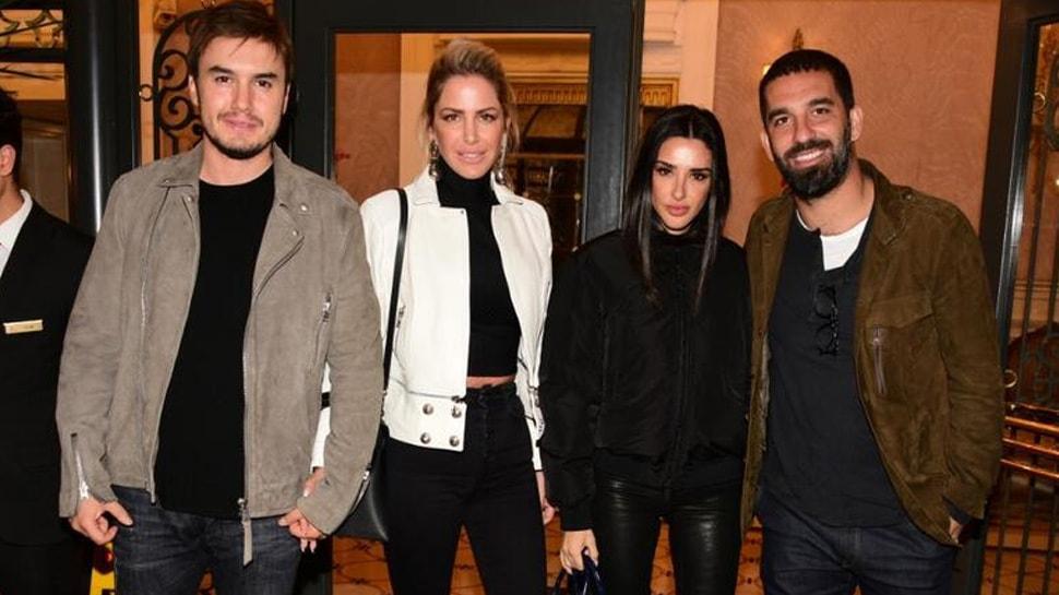 Arda Turan ve Mustafa Ceceli eşleriyle yemekte: 'Bu dostluğumuz herkese örnek olsun'