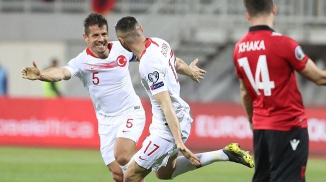 A Milli Futbol Takımı, yarın Kadıköy'de Arnavutluk'u konuk edecek