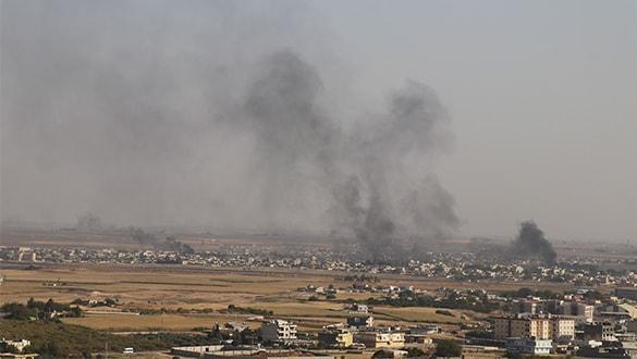 YPG-PKK Suriye'nin kuzeyinde sivillere saldırdı