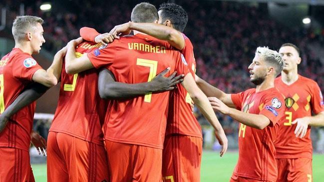 Belçika'dan gol şov