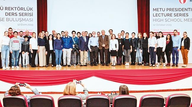 Nobel ödüllü bilim insanları ODTÜ'de