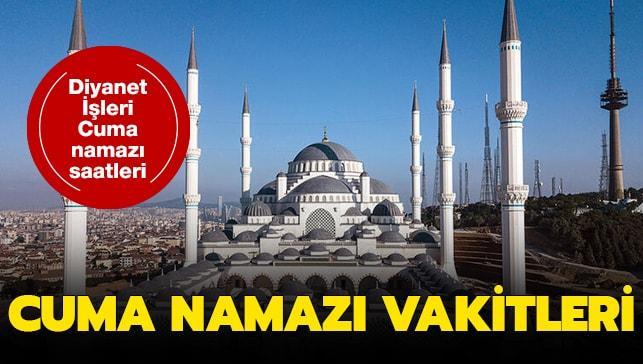 """Cuma namazı saat kaçta"""" 18 Ekim 2019 İ stanbul, Ankara, İzmir Cuma namazı saatleri.."""