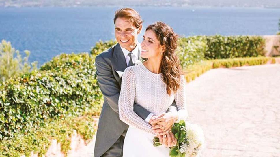 14 yıl sonra gelen nikah: Rafael Nadal ve Maria Perello evlendi!
