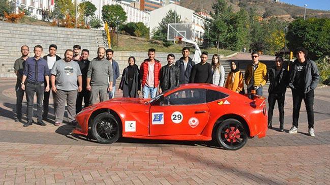 Üniversitede üretildi, saatte 110 kilometre hıza ulaşabiliyor