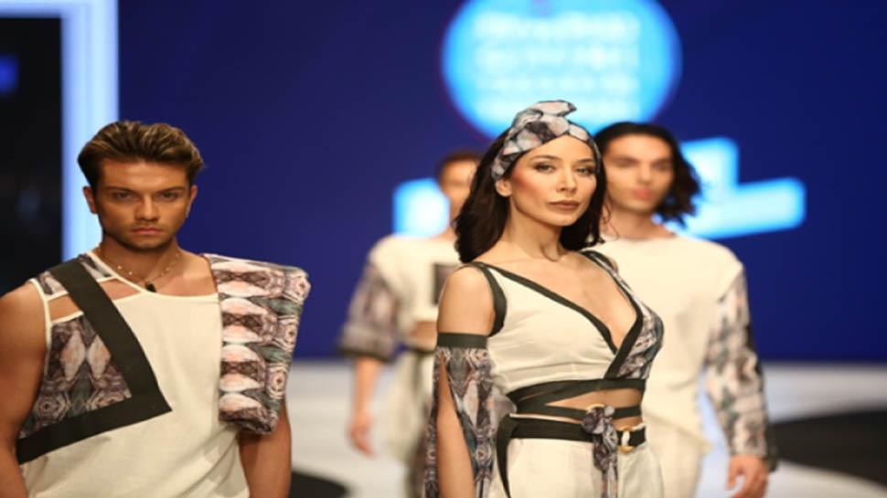 Denizli'de moda dünyasının rüzgarı esti