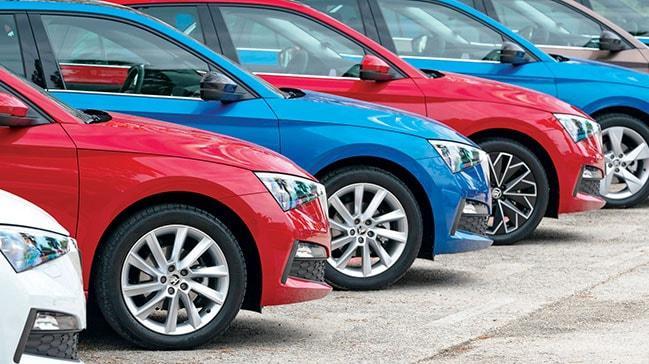Otomotiv satışlarıekimde % 127.5 arttı
