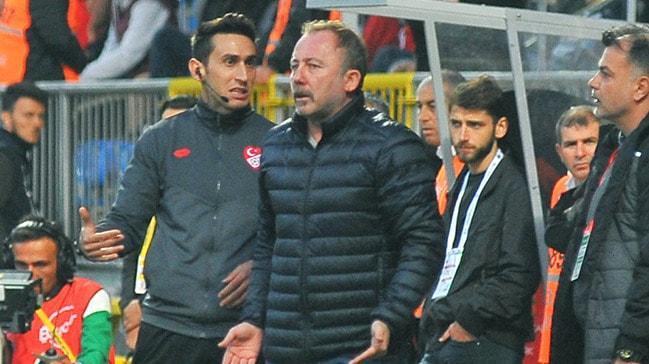 Sergen Yalçın'ın en az 2 maç ceza alması bekleniyor