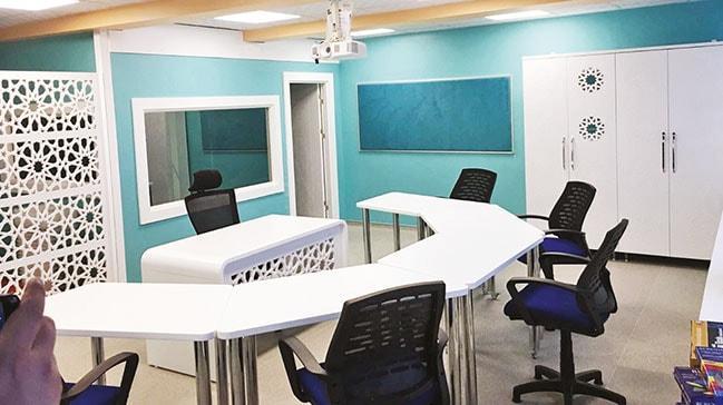 Özel öğrencilere özel tasarım sınıf