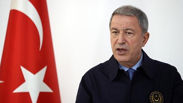 Bakan Akar, PKK-PYD'nin bölgeden çekilmediğini açıkladı