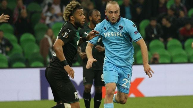 Trabzonspor, UEFA Avrupa Ligi'nde deplasmanda Krasnodar'a mağlup oldu ve Avrupa'ya veda etti