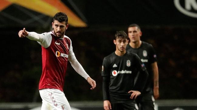 Beşiktaş, deplasmanda Braga'ya mağlup oldu ve Avrupa'dan elendi