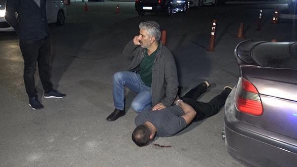 Bursa'da gece yarısı hareketli anlar! Ters kelepçe takıldı