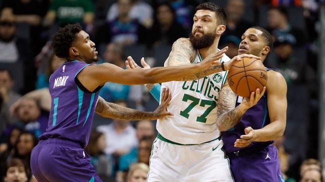 Boston Celtics, Charlotte Hornets'ı 108-87 yenerek üst üste 6. maçını kazandı