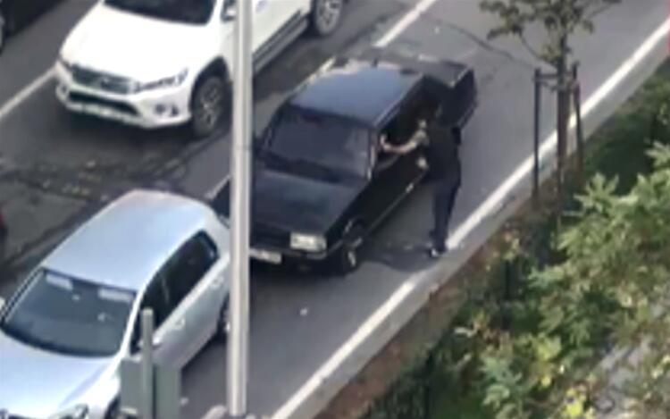 Bu sefer kavga etmediler... Trafikteki tartışma tatlıya bağlandı!