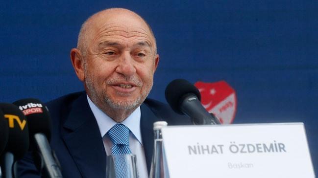 TFF Başkanı Nihat Özdemir'den Medipol Başakşehir'e tebrik