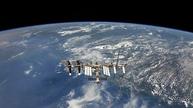 Uluslararası Uzay İstasyonu'nun yörüngesi 800 metre yükseldi