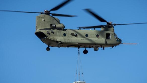 ABD'den Birleşik Arap Emirlikleri'ne Chinook helikopteri satışı