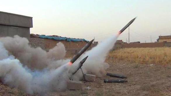 Irak'ta ABD askeri üssüne 17 adet katyuşa füzesi atıldı